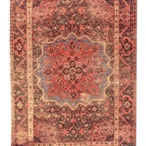 Tom Tailor Teppich Funky Orient Ghom in der Farbe 200 rot