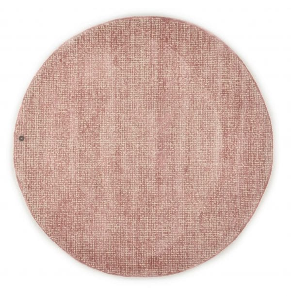 Tom Tailor Teppich Groove uni in der Farbe rose